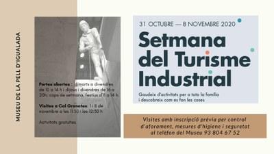 Portes obertes al Museu de la Pell i visites guiades a Cal Granotes, per la Setmana del Turisme Industrial de Catalunya
