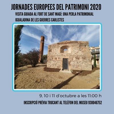 Visites guiades al fort de Sant Magí, en el marc de les Jornades Europees del Patrimoni