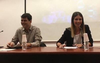 L'alcalde Marc Castells inaugura el curs escolar 2018-19 a La Gaspar