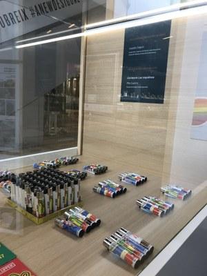 La Gaspar exposa projectes premiats pel Departament i per les empreses a l'Illa Diagonal de Barcelona.
