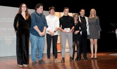 Premi al Rewind Festival pels alumnes de l'EMA Gaspar Camps