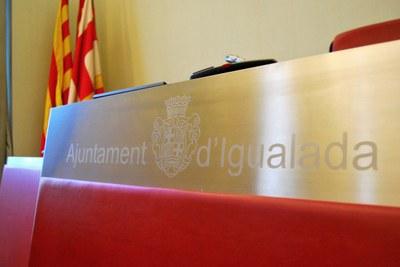 Presidència saló de sessions
